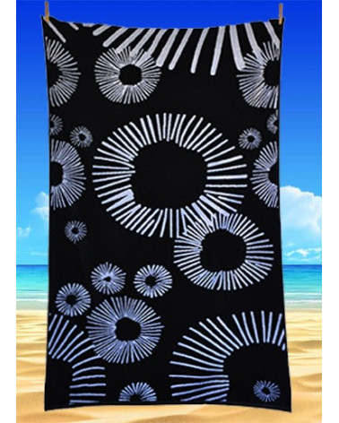 Ręcznik plażowy kąpielowy 90x170 bawełna egipska PL394