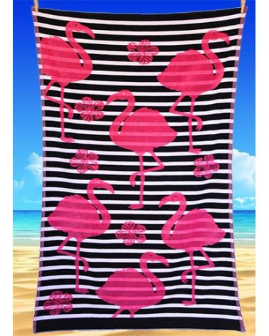 Ręcznik plażowy kąpielowy 90x170 bawełna egipska PL395