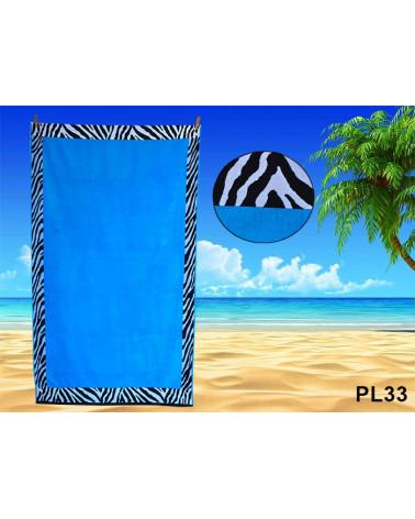 Ręcznik plażowy kąpielowy 90x170 bawełna egipska PL33