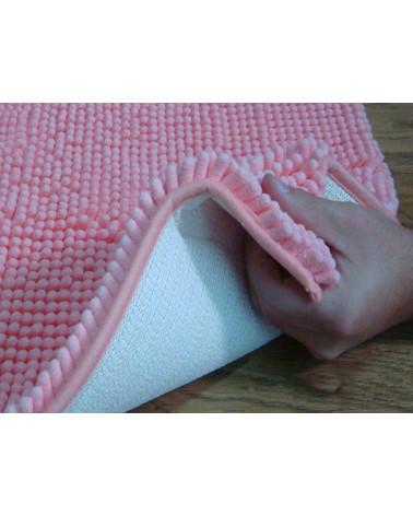 Dywanik łazienkowy 50x80 SHAGGY różowy  Dywanik SHAGGY różowy