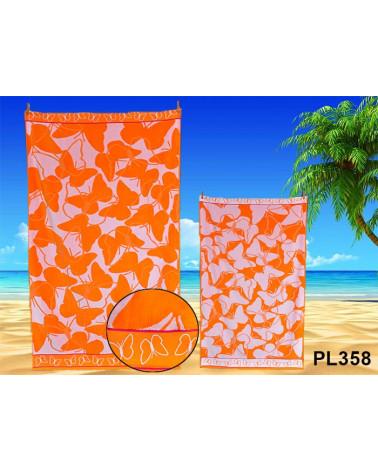 Ręcznik plażowy kąpielowy 90x170 bawełna egipska PL358