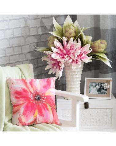 Poszewka dekoracyjna 40x40 FLOWER/29 Eurofirany  Poszewka dekoracyjna FLOWER/29 40x40