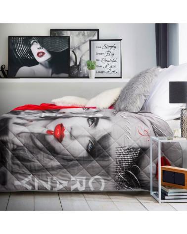 Narzuta na 170x210 KISS 4 Eurofirany  Narzuta młodziezowa na łóżko KISS 4 Eurofirany 170x210