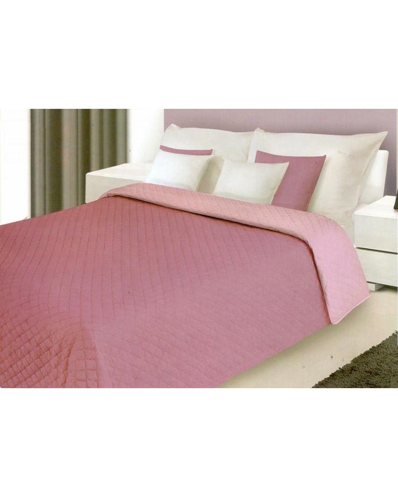 Narzuta na łóżko 220x240 ALEX Eurofirany Fiolet+Lila Narzuta ALEX Eurofirany Fiolet+Lila
