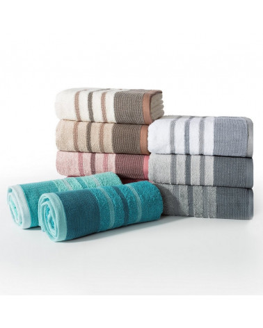 Ręcznik frotte KERI Eurofirany Beżowy dwa rozmiary  Ręcznik  KERI frotte 500g/m2 Eurofirany