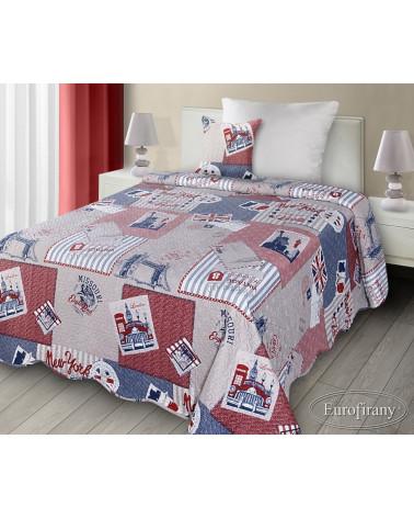 Narzuta na łóżko CHELLSY Eurofirany 170x210