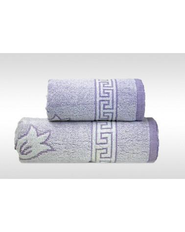 Ręcznik FLORA 2 GRENO Liliowy