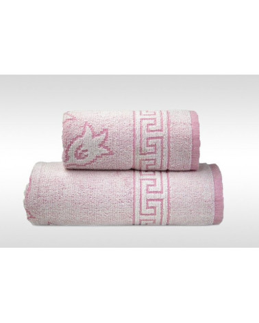 Ręcznik  GRENO FLORA 2 Różowy
