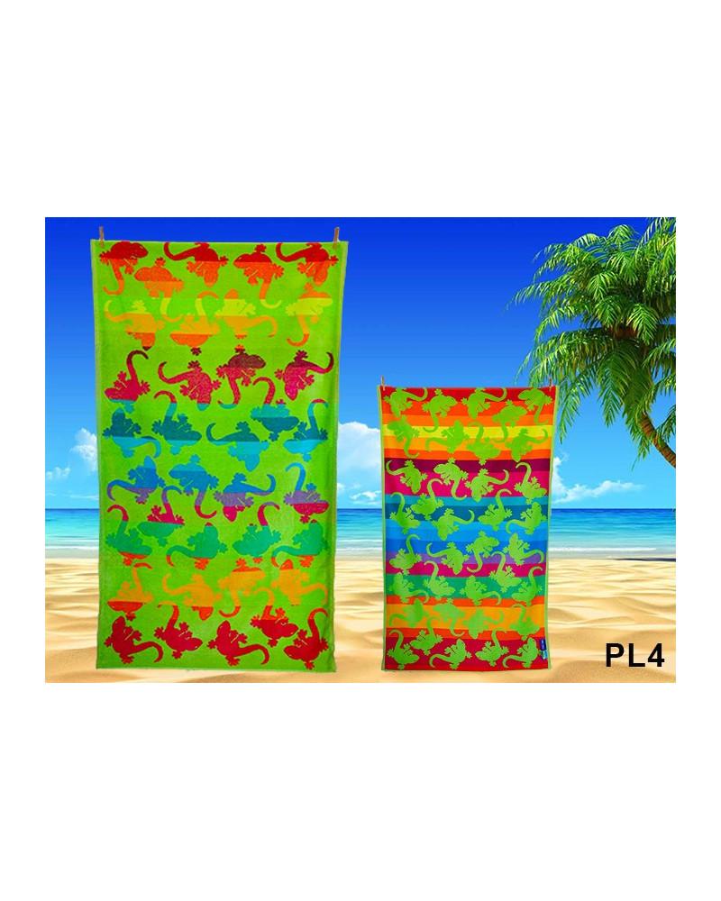 Ręcznik plażowy kąpielowy 90x170 bawełna egipska PL4 Ręcznik plażowy kąpielowy 90x170 bawełna egipska PL4