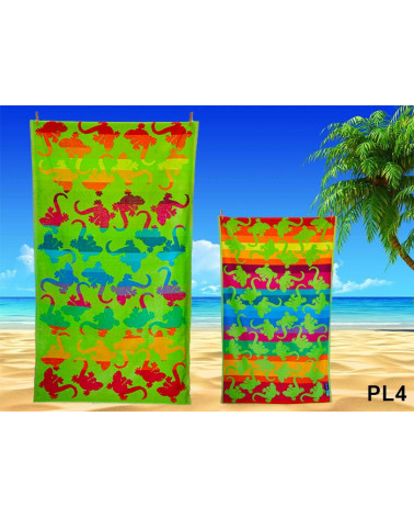 Ręcznik plażowy kąpielowy 90x170 bawełna egipska  Ręcznik plażowy, kąpielowy PL4