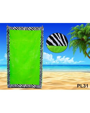 Ręcznik plażowy kąpielowy 90x170 bawełna egipska PL31