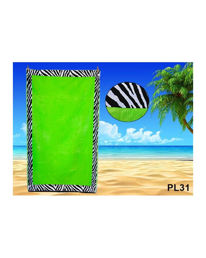 Ręcznik plażowy kąpielowy 90x170 bawełna egipska PL31 Ręcznik plażowy kąpielowy 90x170 bawełna egipska PL31