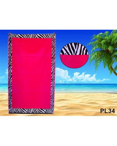 Ręcznik plażowy kąpielowy 90x170 bawełna egipska PL34  Ręcznik plażowy kąpielowy 90x170 bawełna egipska PL34