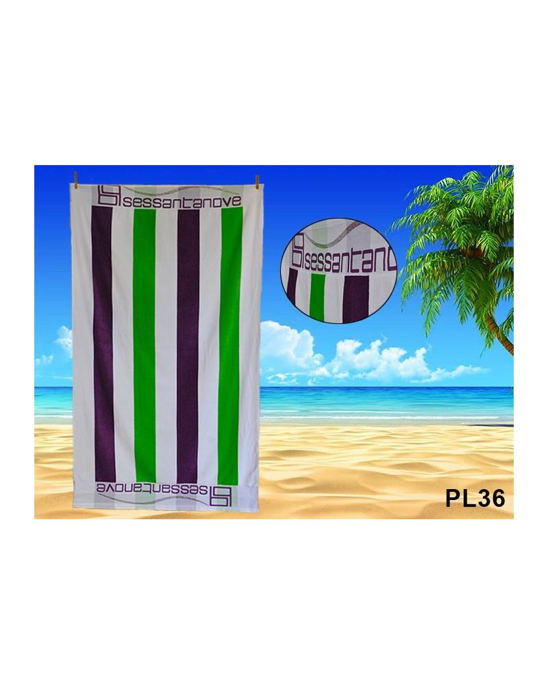 Ręcznik plażowy kąpielowy 90x170 bawełna egipska PL36 Ręcznik plażowy, kąpielowy PL36