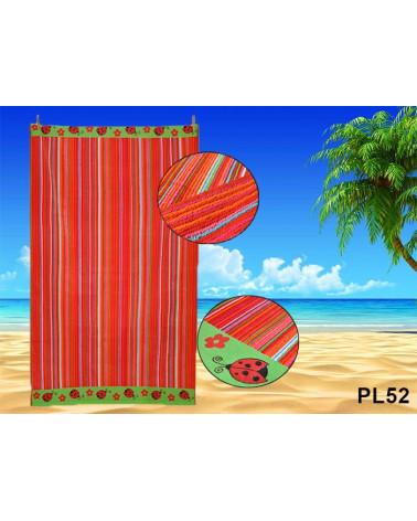 Ręcznik plażowy kąpielowy 90x170 bawełna egipska PL52