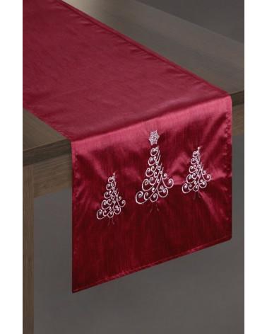 Bieżnik świąteczny 40x140 AFRA Eurofirany  Obrus świąteczny