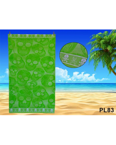 Ręcznik plażowy kąpielowy 90x170 bawełna egipska PL83 Ręcznik plażowy kąpielowy 90x170 bawełna egipska PL83