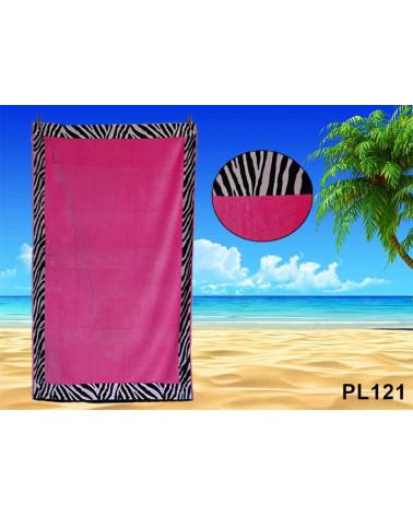 Ręcznik plażowy kąpielowy 90x170 bawełna egipska PL121  Ręcznik plażowy kąpielowy 90x170 bawełna egipska PL121