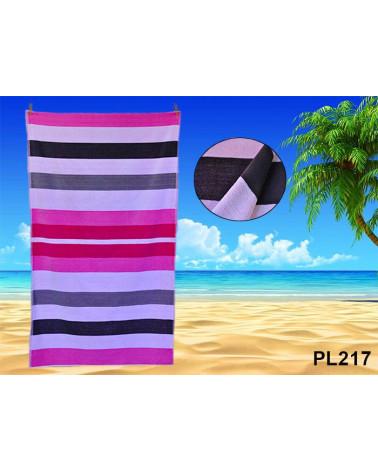 Ręcznik plażowy kąpielowy 90x170 bawełna egipska PL217  Ręcznik plażowy kąpielowy 90x170 bawełna egipska PL217