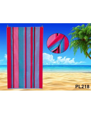 Ręcznik plażowy kąpielowy 90x170 bawełna egipska PL218