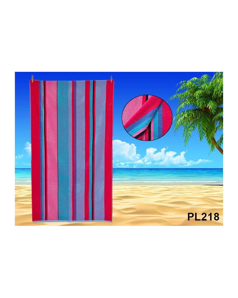 Ręcznik plażowy kąpielowy 90x170 bawełna egipska PL218 Ręcznik plażowy kąpielowy 90x170 bawełna egipska PL218