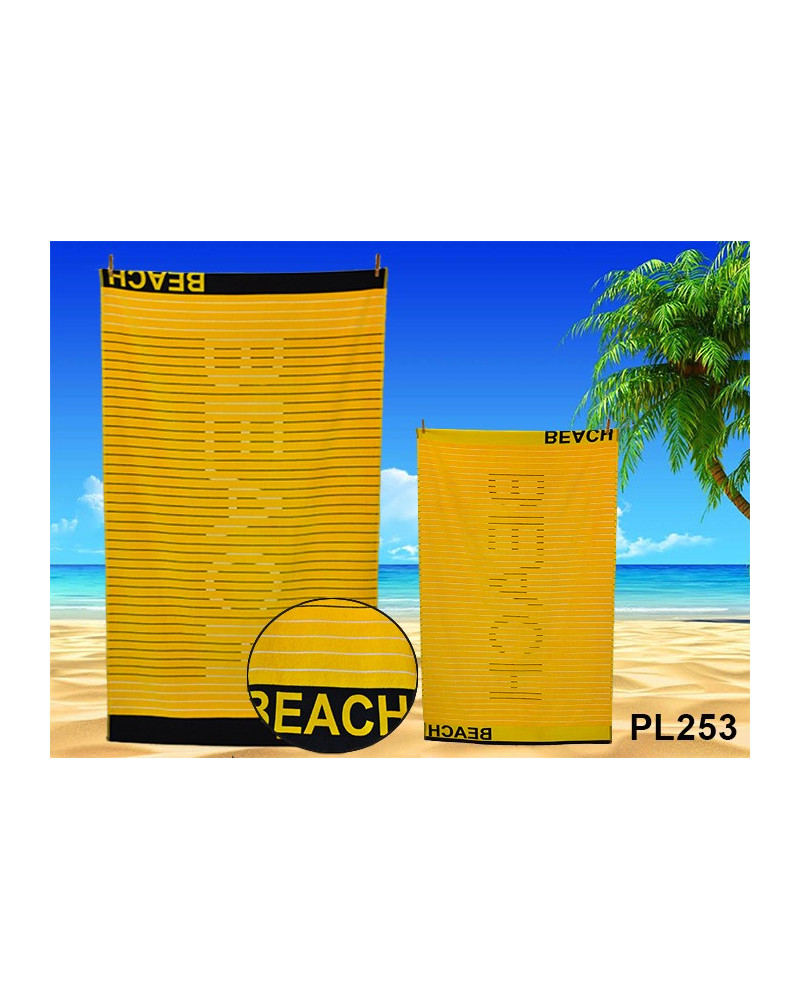 Ręcznik plażowy, kąpielowy bawełna egipska RĘCZNIK PLAŻOWY, KĄPIELOWY PL253