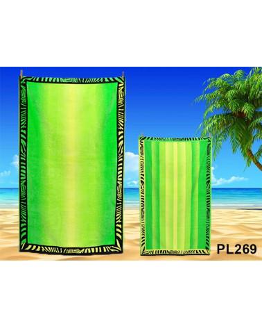 Ręcznik plażowy kąpielowy 90x170 bawełna egipska PL269 Ręcznik plażowy kąpielowy 90x170 bawełna egipska PL269