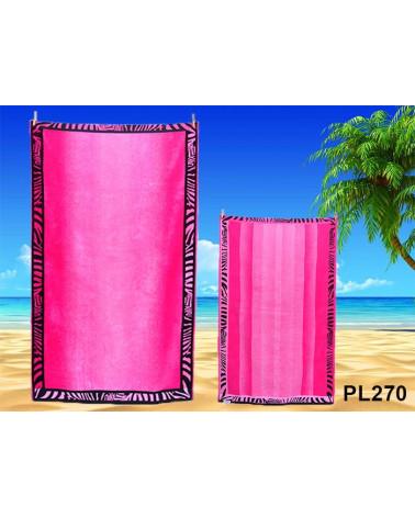 Ręcznik plażowy kąpielowy 90x170 bawełna egipska PL270
