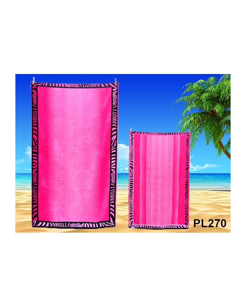 Ręcznik plażowy kąpielowy 90x170 bawełna egipska PL270 Ręcznik plażowy kąpielowy 90x170 bawełna egipska PL270