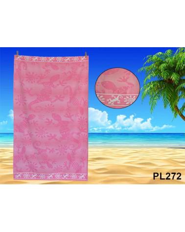 Ręcznik plażowy kąpielowy 90x170 bawełna egipska PL272