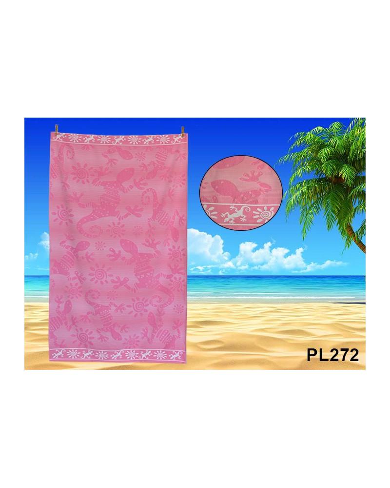 Ręcznik plażowy kąpielowy 90x170 bawełna egipska PL272 Ręcznik plażowy kąpielowy 90x170 bawełna egipska PL272