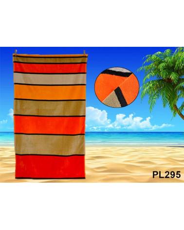 Ręcznik plażowy kąpielowy 90x170 bawełna egipska PL295 Ręcznik plażowy kąpielowy 90x170 bawełna egipska PL295