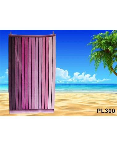 Ręcznik plażowy kąpielowy 90x170 bawełna egipska PL300