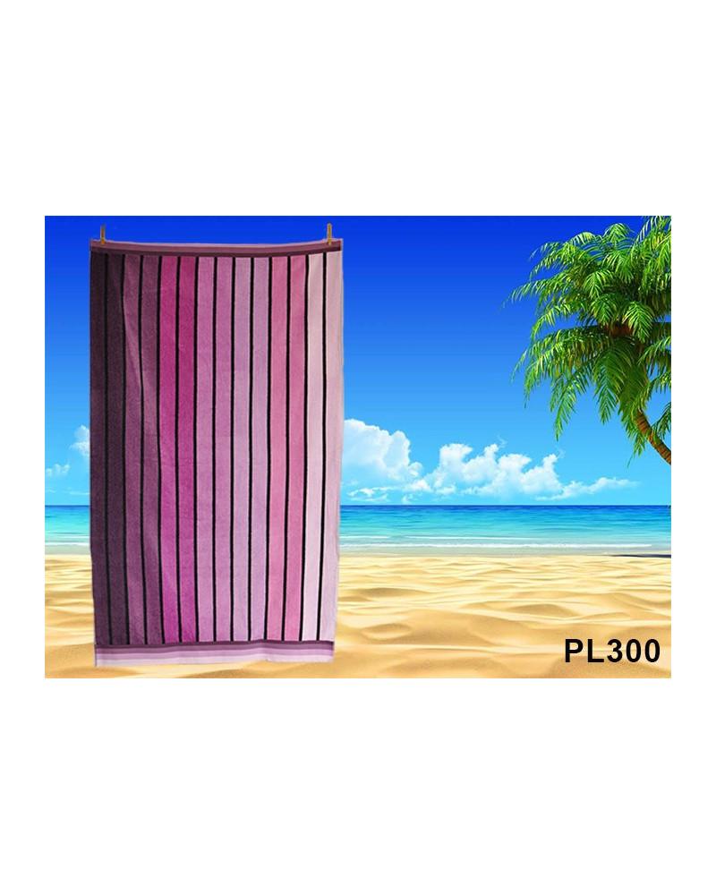 Ręcznik plażowy kąpielowy 90x170 bawełna egipska PL300 Ręcznik plażowy kąpielowy 90x170 bawełna egipska PL300