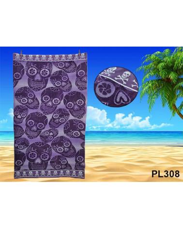 Ręcznik plażowy kąpielowy 90x170 bawełna egipska PL308 Ręcznik plażowy kąpielowy 90x170 bawełna egipska PL308