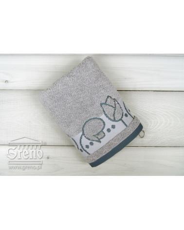 Ręcznik frotte TULIPANO Greno Frotex Popiel dwa rozmiary Ręcznik FROTEX TULIPANO GRENO