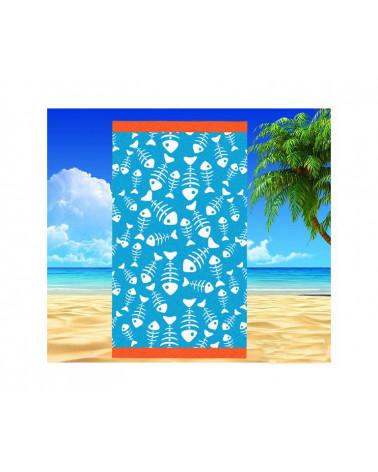 Ręcznik plażowy 90x170 kąpielowy bawełna egipska PL425