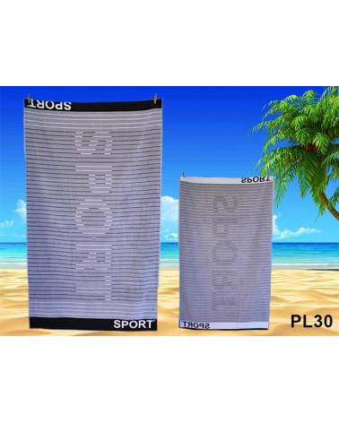 Ręcznik plażowy kąpielowy 90x170 bawełna egipska PL30 Ręcznik plażowy kąpielowy 90x170 bawełna egipska PL30