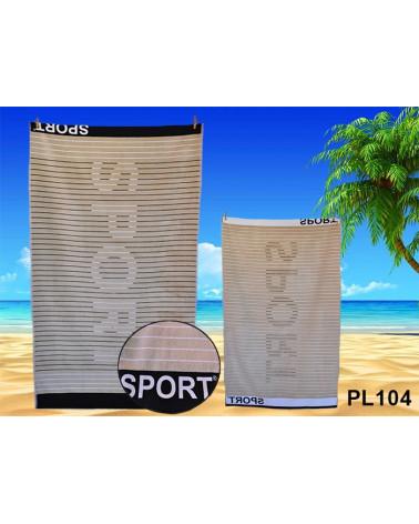 Ręcznik plażowy, kąpielowy 90x170 bawełna egipska PL104 RĘCZNIK PLAŻOWY, KĄPIELOWY PL104