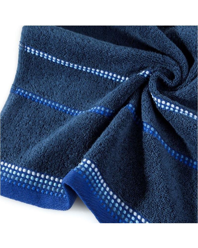 Ręcznik KORA Eurofirany, dwa rozmiary, c.niebieski