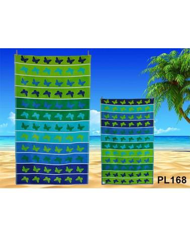 Ręcznik plażowy kąpielowy 90x170 bawełna egipska PL168