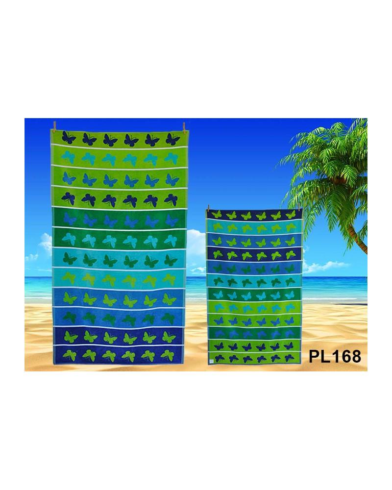 Ręcznik plażowy kąpielowy 90x170 bawełna egipska PL168 Ręcznik plażowy kąpielowy 90x170 bawełna egipska PL168