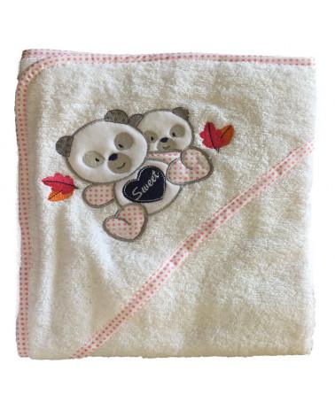 Okrycie kąpielowe niemowlęce 75x75 Baby design 91