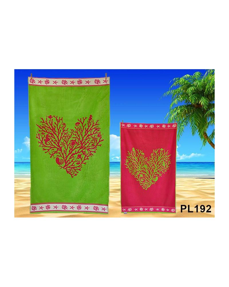 Ręcznik plażowy kąpielowy 90x170 bawełna egipska PL192 Ręcznik plażowy kąpielowy 90x170 bawełna egipska PL192