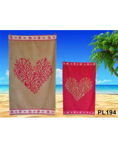 Ręcznik plażowy kąpielowy 90x170 bawełna egipska PL194