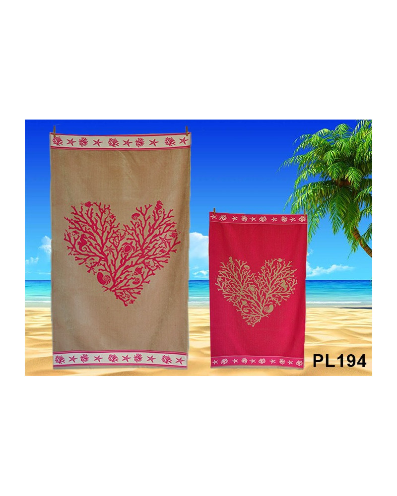 Ręcznik plażowy kąpielowy 90x170 bawełna egipska PL194 Ręcznik plażowy kąpielowy 90x170 bawełna egipska PL194