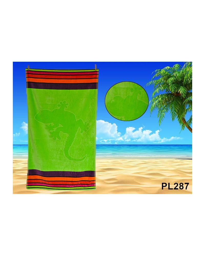 Ręcznik plażowy kąpielowy 90x170 bawełna egipska PL287 Ręcznik plażowy kąpielowy 90x170 bawełna egipska PL287