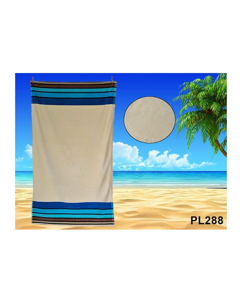 Ręcznik plażowy kąpielowy 90x170 bawełna egipska PL288 RĘCZNIK PLAŻOWY, KĄPIELOWY PL288