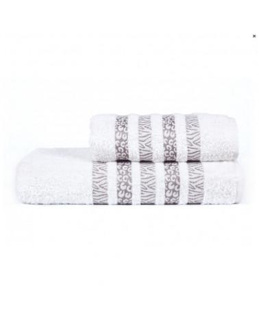 Ręcznik kąpielowy, łazienkowy, bawełniany biały