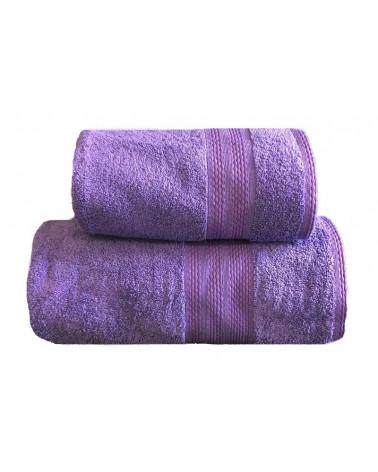 Ręcznik kąpielowy, łazienkowy, 100% bawełniany c.fiolet